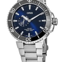Oris Aquis Small Second 01 743 7733 4135-07 8 24 05PEB new