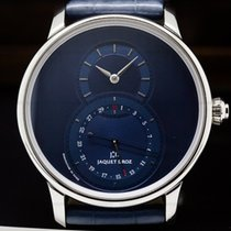Jaquet-Droz 43mm Automatic pre-owned Grande Seconde Blue