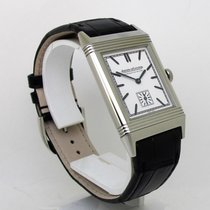 Jaeger-LeCoultre Grande Reverso Ultra Thin Steel 46mm White No numerals