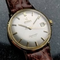 Omega pre-owned Automatic 34mm Silver Plexiglass
