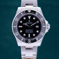 Rolex Sea-Dweller 4000 Stål 40mm Svart Ingen tall