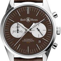 Bell & Ross Vintage BR-126-OFFICER-BROWN-B-V-039 nouveau