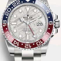 Rolex White gold Automatic Grey No numerals 40mm new GMT-Master II