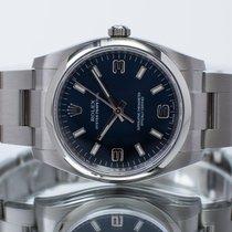 Rolex Oyster Perpetual 34 Steel 34mm Blue Arabic numerals United Kingdom, Essex