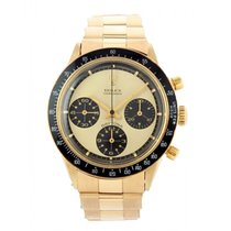 Rolex Daytona Yellow gold 37mm Champagne