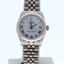 Rolex Lady-Datejust nuevo 2010 Automático Reloj con estuche original 178241