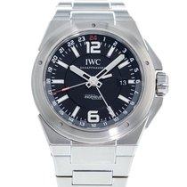 IWC Ingenieur Dual Time Steel 43mm Black