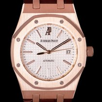 Audemars Piguet Royal Oak Selfwinding Oro rosado 39mm Plata