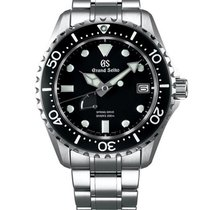 Seiko Grand Seiko Steel Black United States of America, Iowa, Des Moines