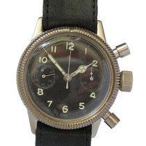 Tutima Chronograaf 40mm Handopwind tweedehands Zwart
