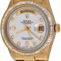 Rolex Day-Date 36 Yellow gold 35mm Mother of pearl No numerals United States of America, Texas, Dallas