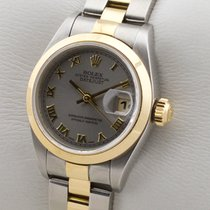 Rolex Oyster Perpetual Lady Date 69163 SERVICE 01.2017 1998 gebraucht