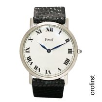 Piaget White gold 31mm Manual winding ref 903 pre-owned