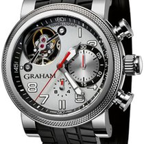 Graham Chronograph 47mm Automatic pre-owned Silver