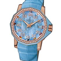 Corum Admirals Cup Competition 40 mm Rose Gold Diamonds Watch