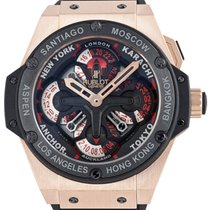 Hublot King Power Unico GMT Red Gold 48mm 771.OM.1170.RX