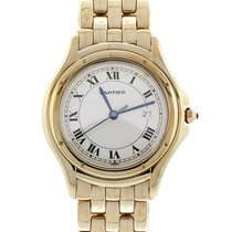Cartier Cougar 33 MM 18K Solid Yellow Gold