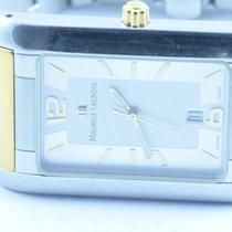 Maurice Lacroix Herren Uhr 28mm Stahl/gold Quartz Mit Orig....