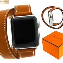 Apple Watch Hermes Series 2 Double Tour 38mm Fauve Barenia...