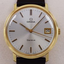 Omega Gold Watch 14K 1974 Great C.1030