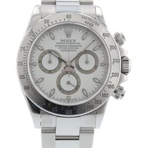 Rolex Daytona 116520 Watch with Stainless Steel Bracelet and...