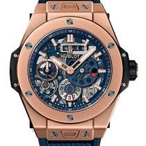 Hublot Big Bang Meca-10 Oro rosa 45mm Transparente