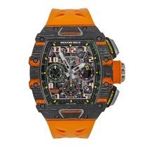 Richard Mille 50mm Automatisk ny RM 011 Transparent