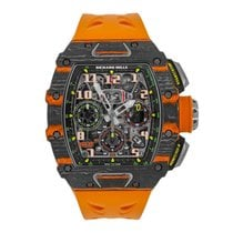 Richard Mille new Automatic 49.94mm Carbon Sapphire Glass