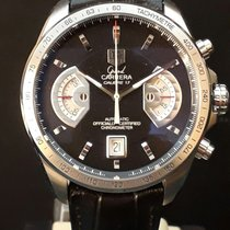 TAG Heuer Grand Carrera new Automatic Chronograph Watch with original box and original papers CAV511A.FC6225