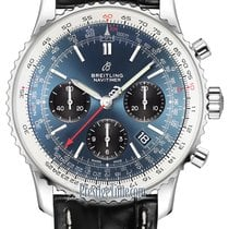 Breitling Navitimer 1 B01 Chronograph 43 Steel 43mm Blue United States of America, New York, Airmont