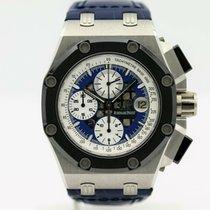Audemars Piguet Royal Oak Offshore Chronograph Платина 42mm Синий