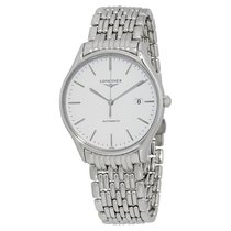 Longines Lyre Steel 38.5mm White No numerals