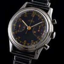 Angelus military LE Hungarian Military  chronograph cal.215 1950 pre-owned
