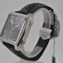 TAG Heuer Monaco Calibre 11 Steel 39mm Grey No numerals