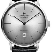 Hamilton Intra-Matic Steel 42mm Silver United States of America, New York, Brooklyn