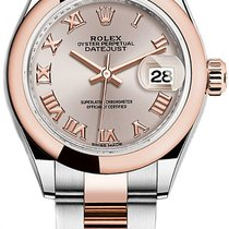 Rolex Lady-Datejust Gold/Steel 28mm Pink Roman numerals United States of America, New York, NEW YORK