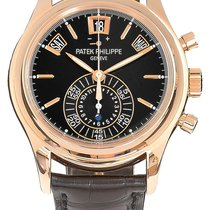 Patek Philippe Annual Calendar Chronograph Rose gold 40.5mm Black United Kingdom, London