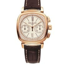 Patek Philippe Rose gold Manual winding White 35mm new Chronograph
