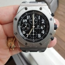 Audemars Piguet Royal Oak Offshore Chronograph Stål Sort Danmark, Virum