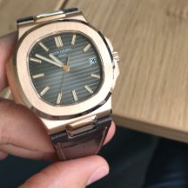 Patek Philippe Nautilus Or rose 40mm Brun Belgique, Waterloo