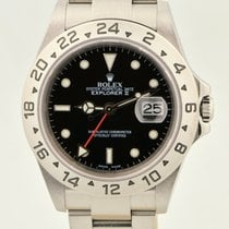Rolex 16570T Steel 2003 Explorer II 40mm pre-owned United States of America, Washington, Bellevue
