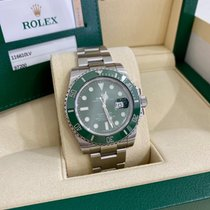 Rolex Submariner Date 116610LV 2014 pre-owned