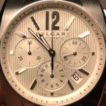Bulgari Ergon Steel 40mm White Arabic numerals