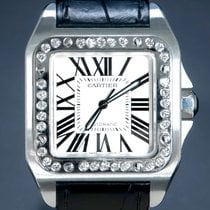 Cartier Santos 100 W20073X8 Very good Steel 41mm Automatic