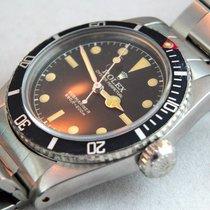 Rolex Submariner (No Date) gebraucht 38mm Schwarz Stahl