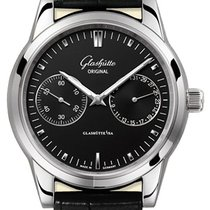 Glashütte Original Senator Hand Date Steel 40mm Black United States of America, New York, Airmont