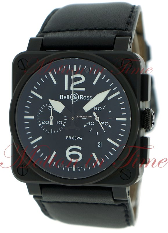 2455ee93494c Bell & Ross BR03-94 Chronograph