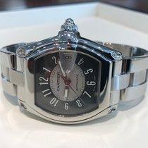 Cartier Roadster  Steel Grey Black Arabic Dial (Full Set)