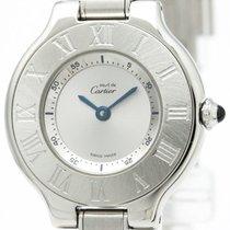 Cartier Must 21 Stainless Steel Quartz Ladies Watch W10109t2...
