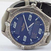 Breitling Aerospace Herren Uhr Titan/ 40mm E65062 Blau...